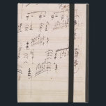 """Score sheet of &#39;Moonlight Sonata&#39; Case For iPad Air<br><div class=""""desc"""">Image Collection Number:  XIR181016  Score sheet of &#39;Moonlight Sonata&#39; (pen &amp; ink on paper). Beethoven,  Ludwig van (1770-1827) pen and ink on paper. Beethoven Haus,  Bonn,  Germany Giraudon.  19th</div>"""