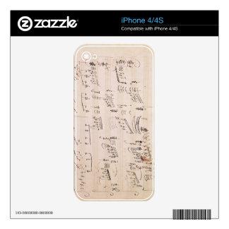 Score sheet of 'Moonlight Sonata' iPhone 4 Skins