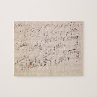 Score sheet of 'Moonlight Sonata' Jigsaw Puzzles