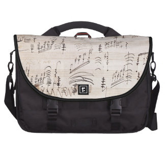 Score sheet of 'Moonlight Sonata' Computer Bag