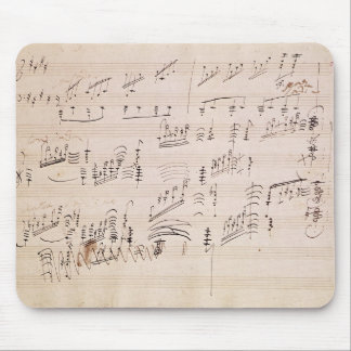 Score sheet of 'Moonlight Sonata' Mouse Pad
