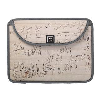 Score sheet of 'Moonlight Sonata' Sleeves For MacBook Pro
