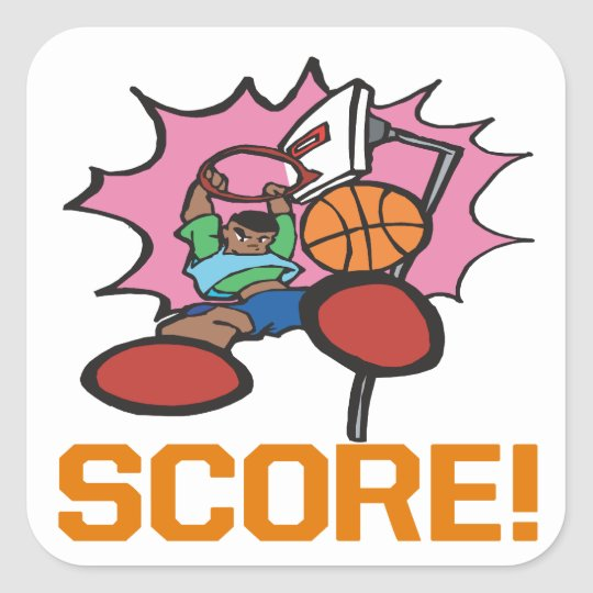 Score Square Sticker
