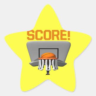 Score Star Sticker