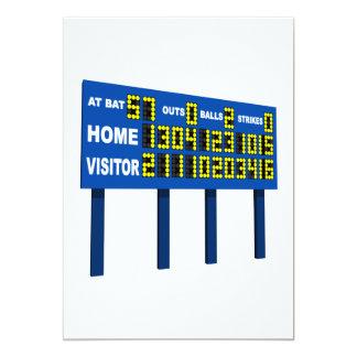 Scoreboard Card