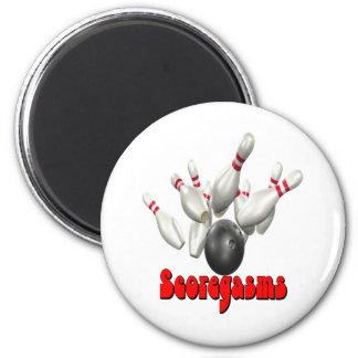 Scoregasms Bowling Refrigerator Magnet