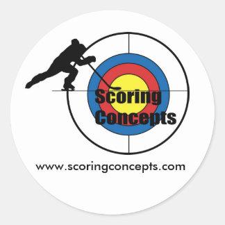 Scoring Concepts Sticker