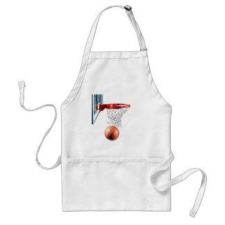 Scoring Machine Basketball Adult Apron