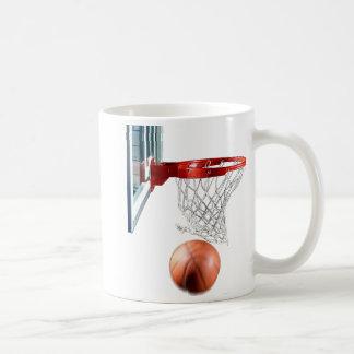 Scoring Machine Basketball Classic White Coffee Mug