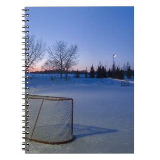Scoring the Sunset Spiral Notebook