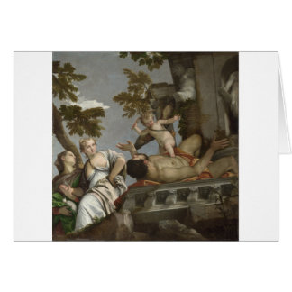 Scorn by Paolo Veronese Greeting Card