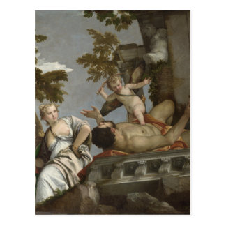 Scorn by Paolo Veronese Postcard