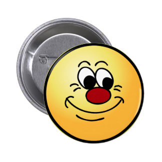 Scornful Smiley Face Grumpey Button