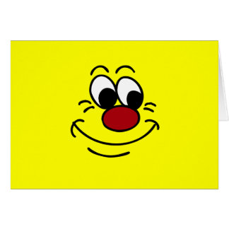 Scornful Smiley Face Grumpey Stationery Note Card