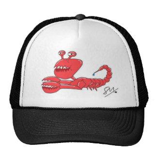 Scorpi crab mesh hats