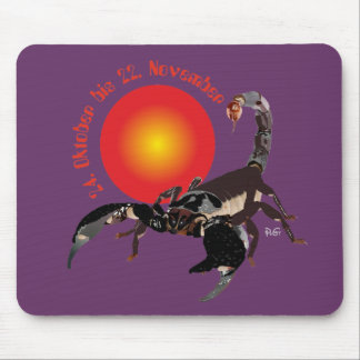 Scorpio 24 October until 22 November mouse PAD