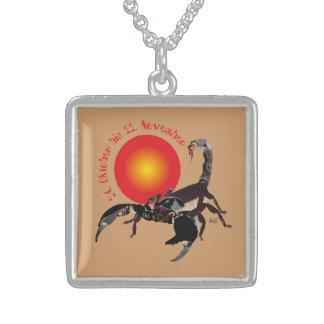 Scorpio 24 October until 22 November necklace