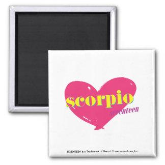 Scorpio 2 Inch Square Magnet