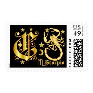Scorpio-3-C Postage Stamp