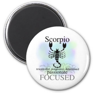 Scorpio About You 2 Inch Round Magnet