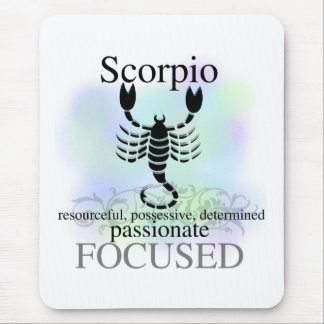 Scorpio About You Mouse Pad