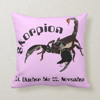 Scorpio - asterisk cushion