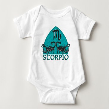 scorpionagency Scorpio Astrological Sign Baby Bodysuit