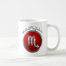 Scorpio Astrological Sign Coffee Mug