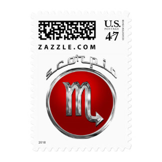 Scorpio Astrological Sign Postage