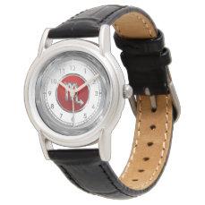 Scorpio Astrological Symbol Wristwatch