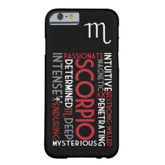 Scorpio Astrology Word Collage iPhone 6 case