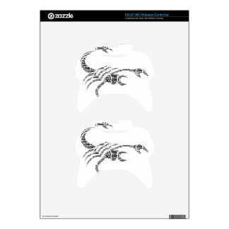 Scorpio Astrology Zodiac Sign Word Cloud Xbox 360 Controller Skins