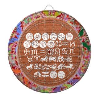 SCORPIO Astrology Zodiac Symbol Dartboard