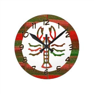 SCORPIO Astrology Zodiac Symbol Round Clock
