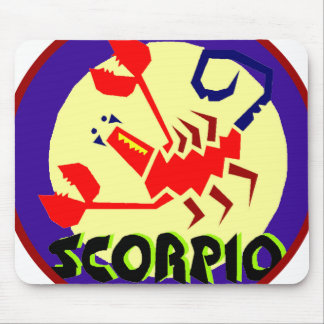 Scorpio Badge Mouse Pad