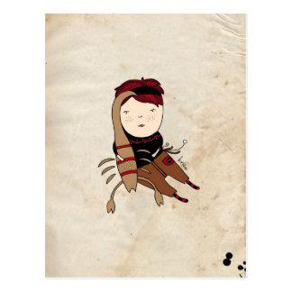 Scorpio Boy Zodiac Sign Postcard