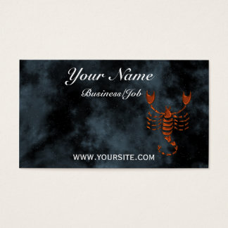 Scorpio Business Card