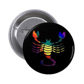 Scorpio 2 Inch Round Button