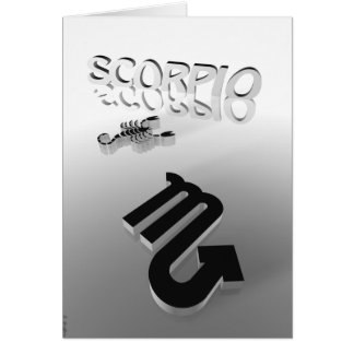 scorpio card