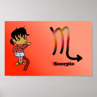 Scorpio chibi poster