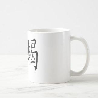 Scorpio Chinese Symbol Classic White Coffee Mug