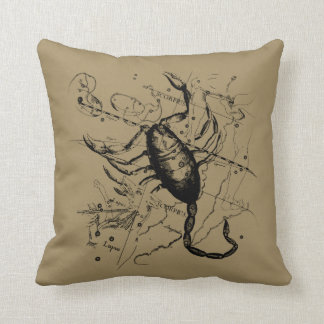 Scorpio Constellation Hevelius 1690 Classic Throw Pillow