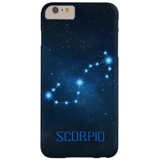Scorpio Constellation Zodiac Barely There iPhone 6 Plus Case