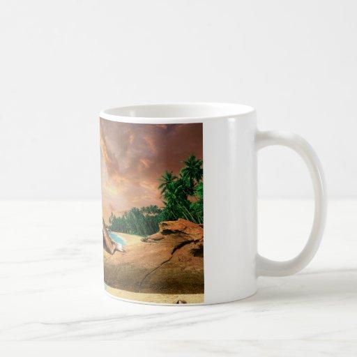 Scorpio - cup classic white coffee mug