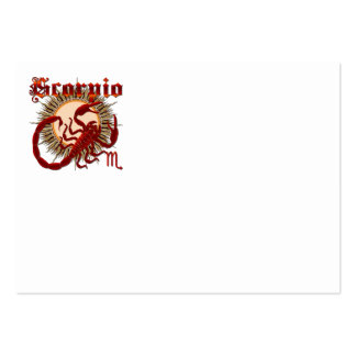 Scorpio-Design-1 Business Card Templates