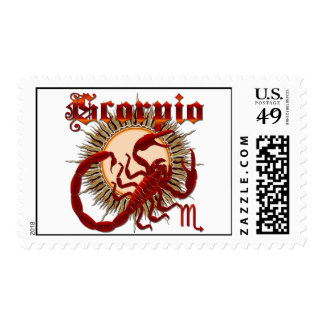 Scorpio-Design-1 Timbres Postales