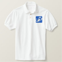 SCORPIO EMBROIDERED POLO SHIRT