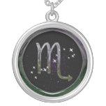 Scorpio Glass Custom Jewelry