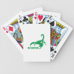 Scorpio - Green Card Deck