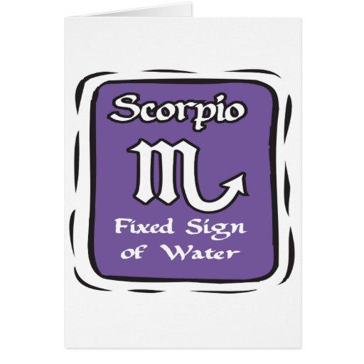 Scorpio Greeting Cards